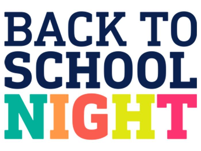 Back to School Night - News and Announcements -